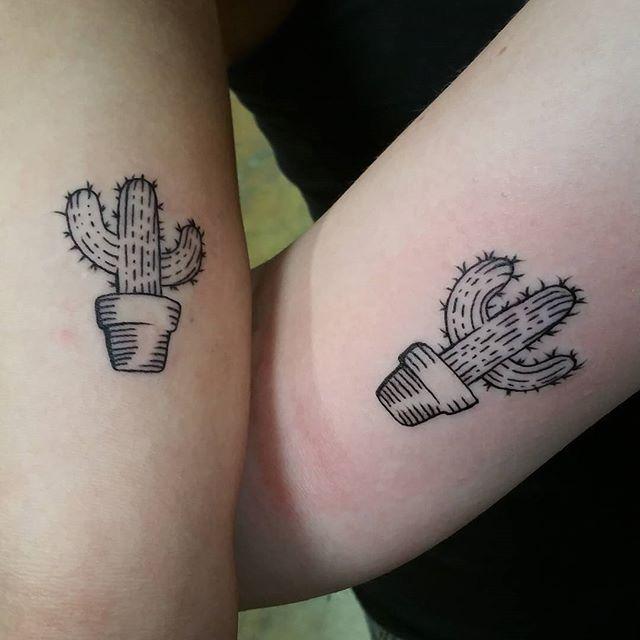25 Tatouages de Cactus Chics et Mignons Que L'on a Repéré Sur Instagram