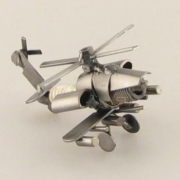 Schraubenmännchen Hubschrauber Mini