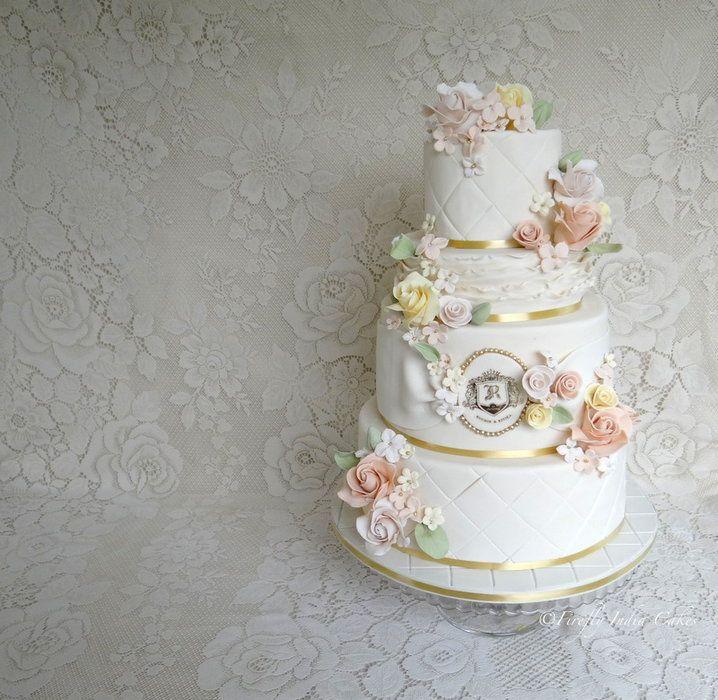 Pretty Pastels - by FireflyIndia @ CakesDecor.com - cake decorating website