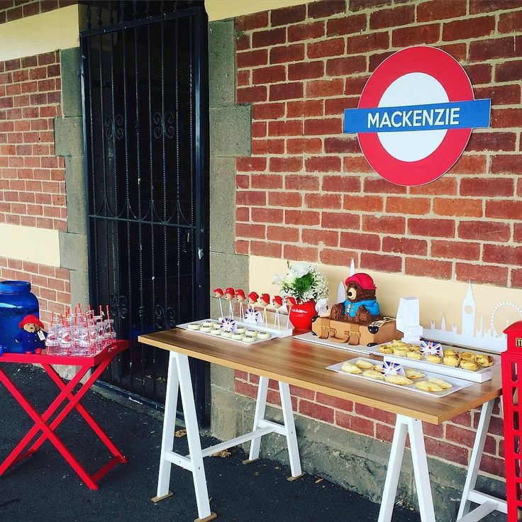 Here's a peek at my darlings 4th Birthday Party. Paddington was the theme with a local heritage listed train station as the setting. #childrensparties #paddingtonbear #partyplanning by thesweetestoccasions