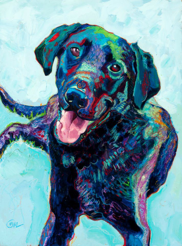custom pet portraits... need to commission one for lola