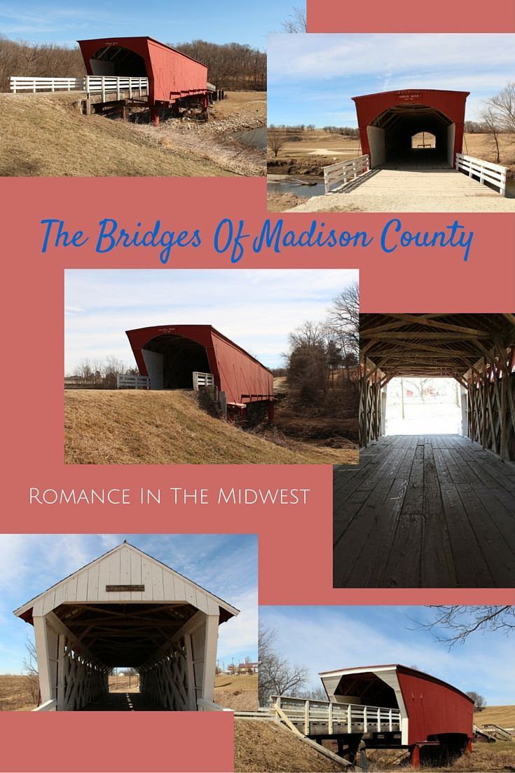 If you want romance, Madison County, Iowa is just what you need. The Bridges of Madison County are the drawcard for the area...and it's easy to see why.