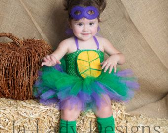 Toddler Ninja Turtle tutu costume