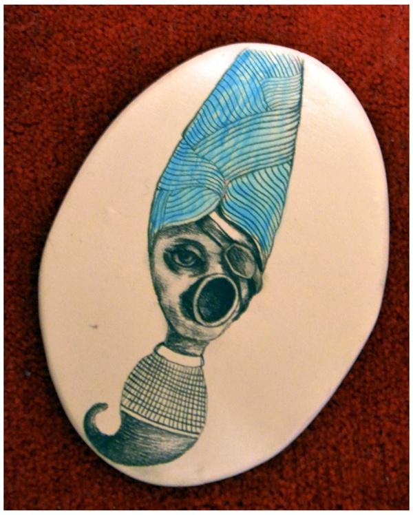tribute to Hieronymus Bosch by lucian szekely-rafan, via Behance