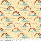 Riley Blake - Unicorns & Rainbows Poster Yellow