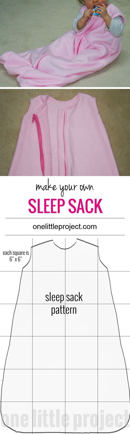 It's not that difficult to make your own sleep sack, so I decided to try it. It certainly beats paying thirty dollars for another one!