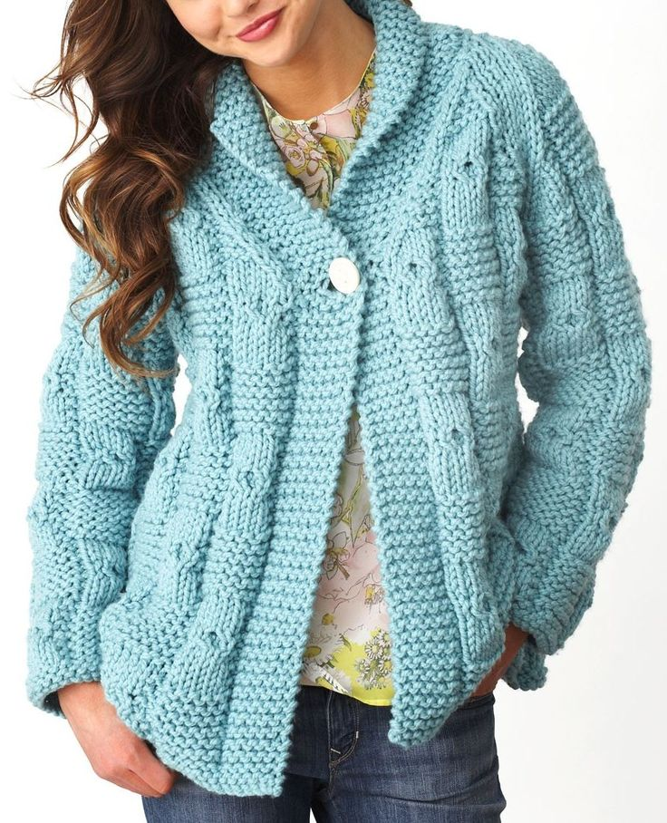 Knitting Pattern For A Long Cardigan : Oversized Sweaters Knitting Patterns