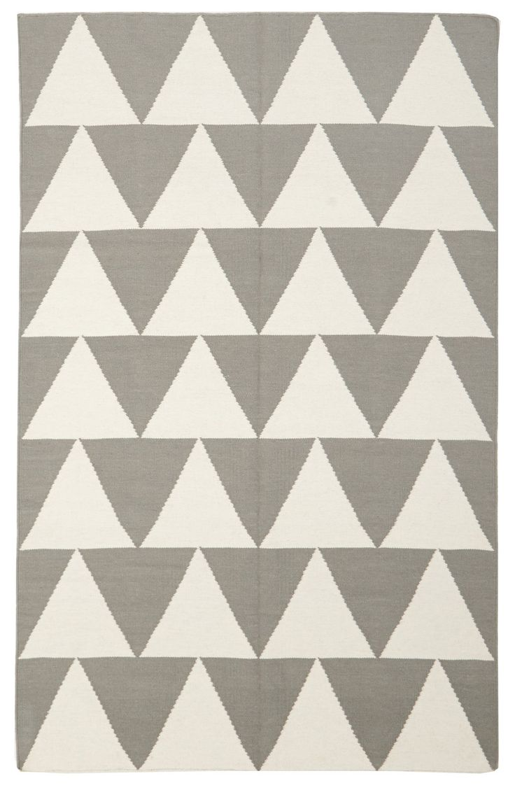 Pyramid Flat Weave Rug Grey By Network Rugs Get It Now Or Find More All At Temple Webster