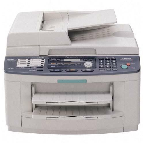 Monochrome Panasonic KX-FLB811 All-in-One Flatbed Laser Fax with Document Sorter