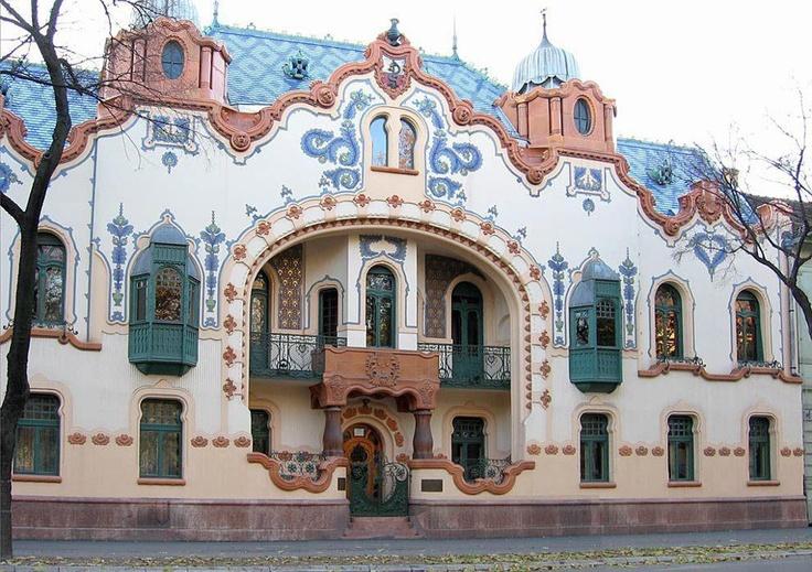 Szecesszió a Délvidéken... Vajdaság Bács-Bodrog vármegye Szabadka - Raichle-palace by Ferenc J. Raichle, hungarian architect
