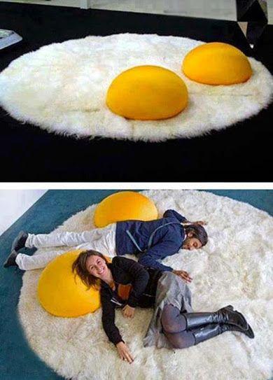 коврик-яичница