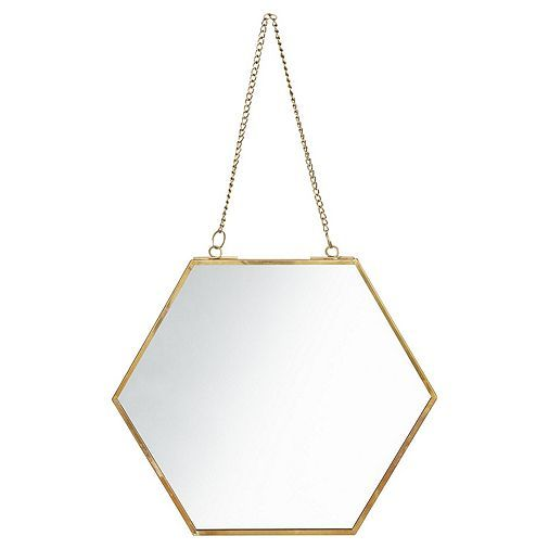 Tesco direct: Tesco Hexagon Mirror £6