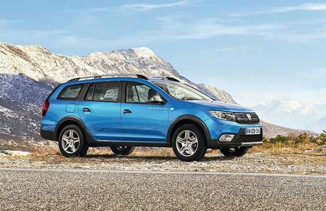 Универсал в облике кроссовера - Dacia Logan MCV STEPWAY
