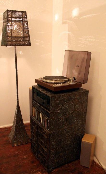 A Tribute to Paul Evans- Hi-Fi cupboard
