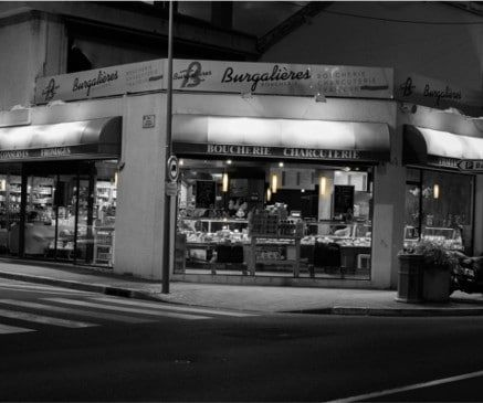 les viandes, charcuteries, produits d'épiceries des boucheries Burgalières en livraison à domicile sur Bordeaux avec vos courses alimentaires de produits frais en vélo triporteur par Mon Assiette Locale