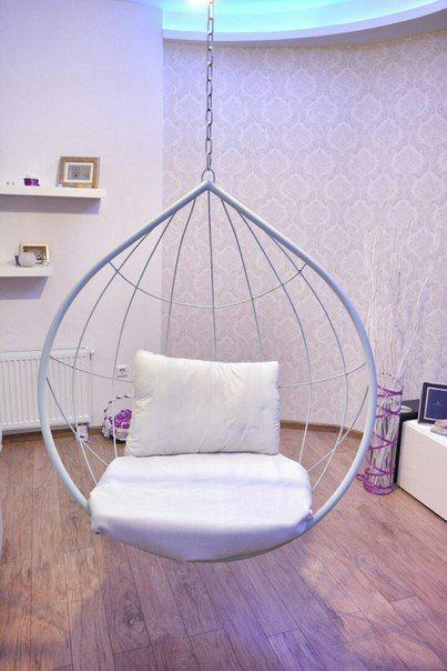 Подвесное кресло из ротанга (кокон, шар, яйцо)