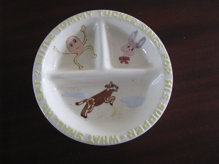 Vintage Baby Dish Nursery Rhyme. $20.00 via Etsy. & 15 best Vintage baby dishes and cups images on Pinterest | Dishes ...