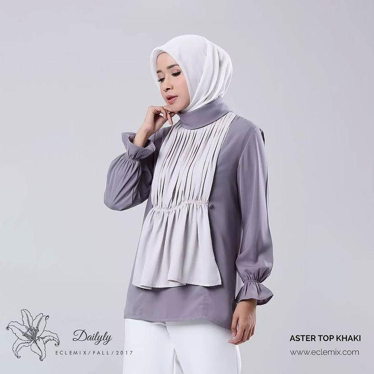 Assalamualaikum ladies aster top warna khaki sekarang juga sudab tersedia di @hijup loh. Jadi selain di www.eclemix.com atau www.blibli.com kamu bisa dapetin top ini di www.hijup.com. . Happy shopping ladies :) . #eclemix #myeclemix  #hijab  #fashion  #hijup  #myhijup  #bandung #localbrandindonesia  #hijabfashion  #ootd