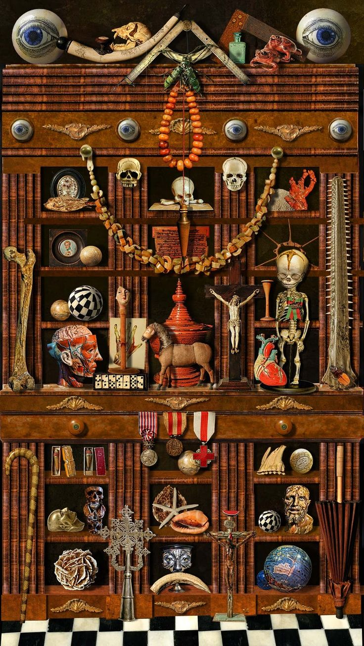 cabinet of curiosities:)