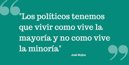 José Mujica, en 13 frases
