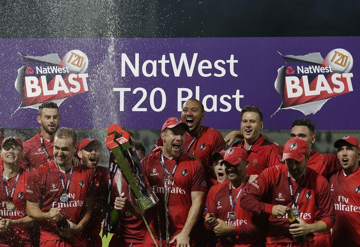 Lancashire win the NatWest T20 Blast trophy