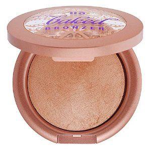 Urban Decay Baked Bronzer Baked 0.26 oz by Urban Decay. $34.99. Baked ~ Bronze Shimmer Baked has a factory full of motherly Italian women to thank for its streak-free finish. But we re not responsible for any Italian-style stares you attract. We re all for the joys of baking - just never in the sun - which is why we created Baked Bronzer. Explore the tantalizing ...