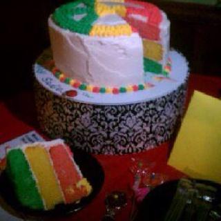 Rasta cake made by katlyn!!!
