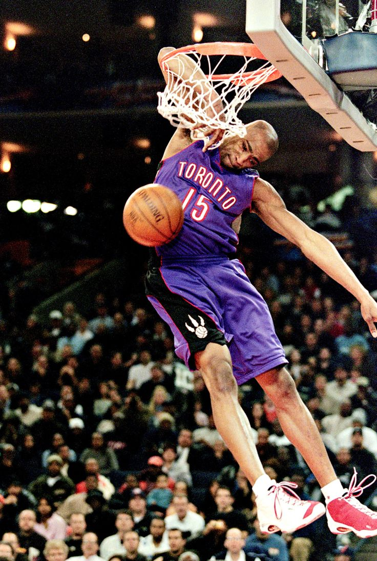 Vince Carter had one of the greatest dunks of all time in a Toronto Raptors jersey. Who do you think will win this years dunk contest?