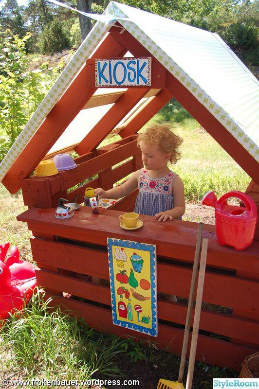 Outside DIY: kiosk,lekstuga,kisoklucka