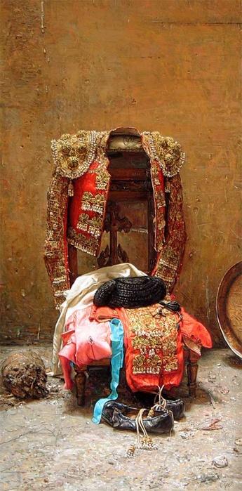 La ropa de los toreros, especialmente los matadores, es muy hermosa y elegante…