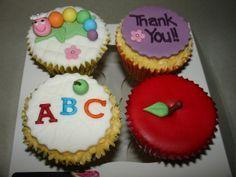 cupcakes teachers day - Buscar con Google