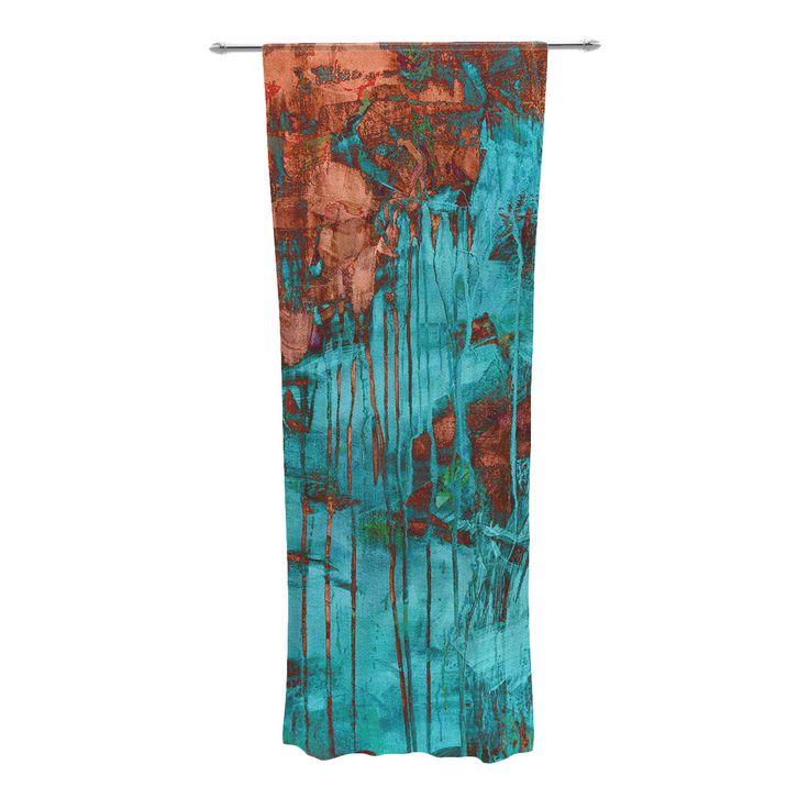Teal Blackout Bedroom Curtains