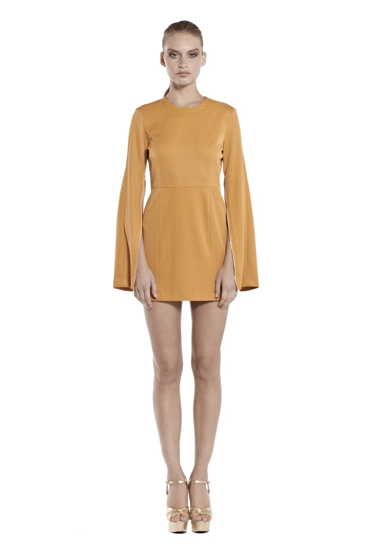 change of season long sleeve body con dress