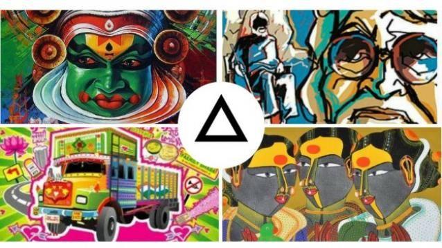 Prisma gets Indian twist with Kathakali, MF Hussain, Thota Vaikuntam and Horn Ok Please filters