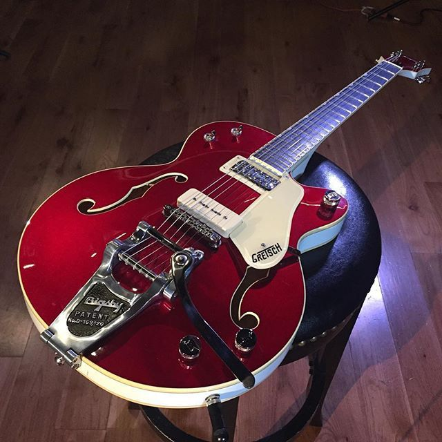 The Gretsch Red Betty ... #centerblockjr #limitededition