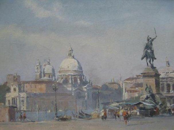 Trevor Chamberlain - Santa Maria della Salute, Venice
