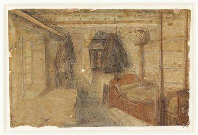 DigitaltMuseum: Hertervig, La stanza della madre