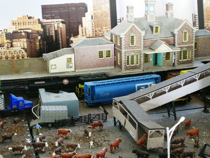 Harwood Island Model Train Display is awesome.