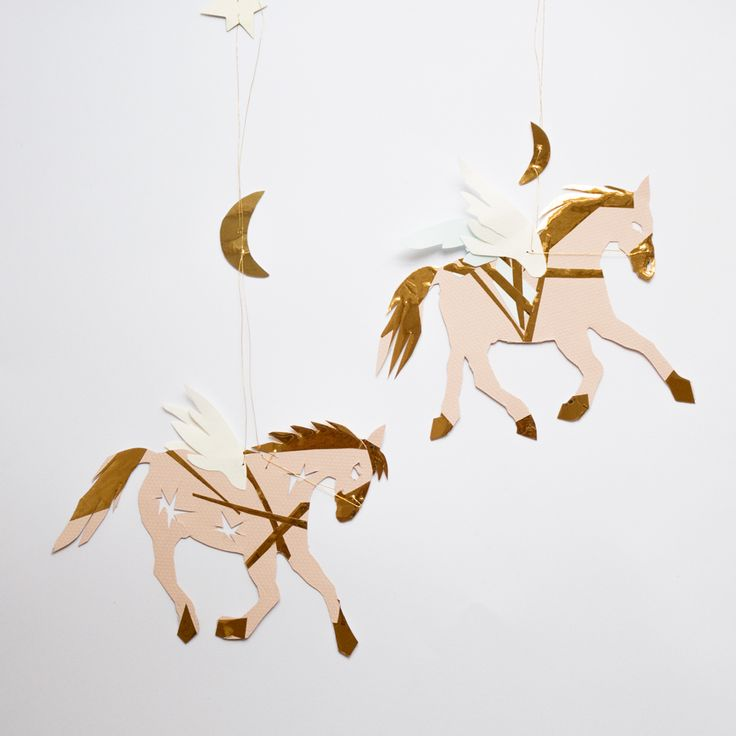 Sarah Becker unika julepynt – Hest