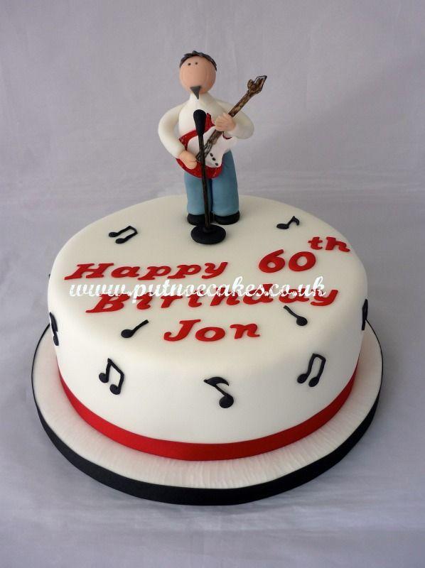 Birthday Cake Guitarist