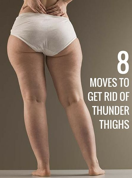 8 effective exercises to get rid of your thigh fat.