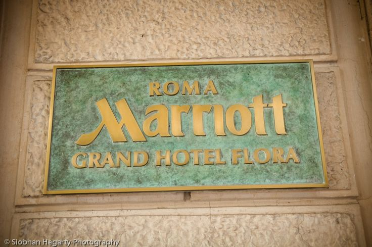 One of the many top hotels catering for weddings in Rome.