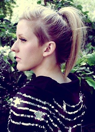 Ellie Goulding: fabulous music, hair, and the rest.