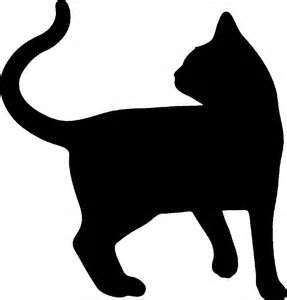 silueta de gato                                                                                                                                                                                 Más