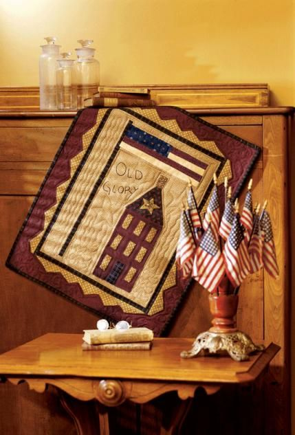 Old Glory at allpeoplequilt.com | Free pattern download. Many free patterns available at this site.