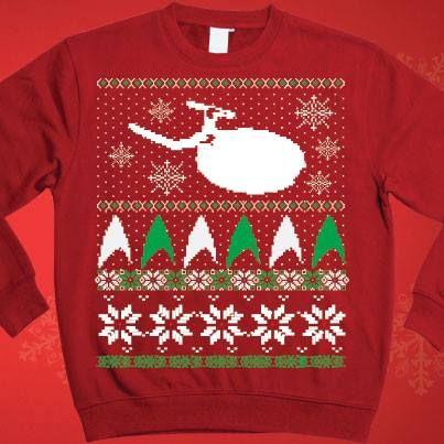 Star Trek Christmas Sweater Amusements Trek Star Trek