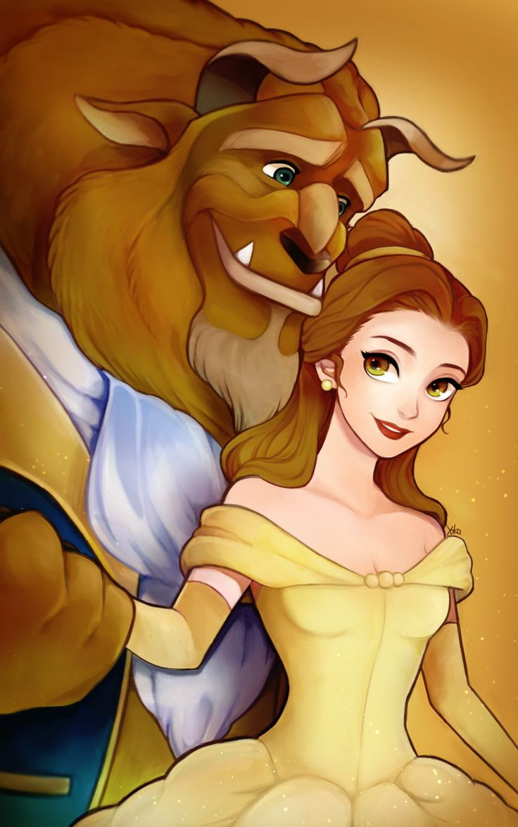 Beauty and the Beast by yoko-art