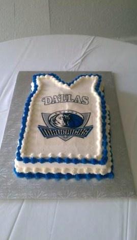 GROOMS WEDDING CAKE DALLAS MAVERICKS