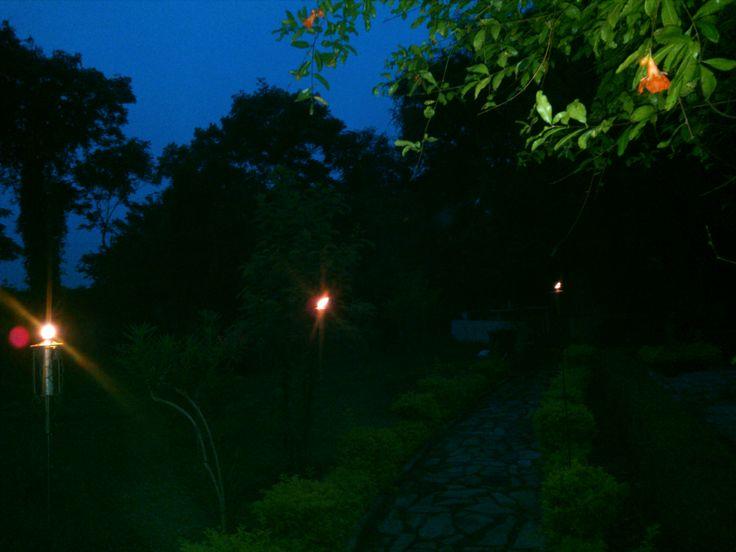 iluminando el camino con quinques