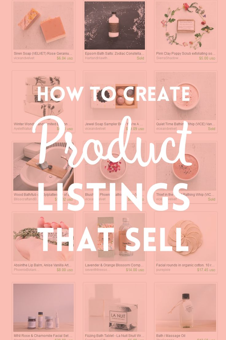 Having a good product doesn't mean that you will have many sales. Learn how to create product listings that sell in five simple steps.